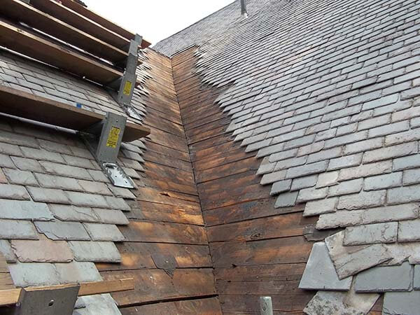 slate roof repairs in dundee