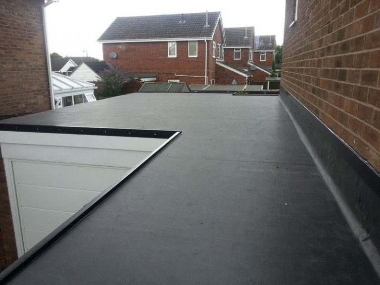 new rubber flat roof dundee